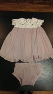 baby dress made @tailorlove