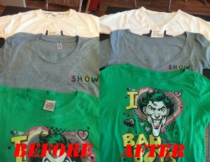 redesign the neckline of your t-shirt  @tailorlove