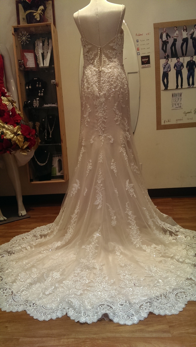 Wedding dress alterations at #tailorlove #weddingdressalterations ...